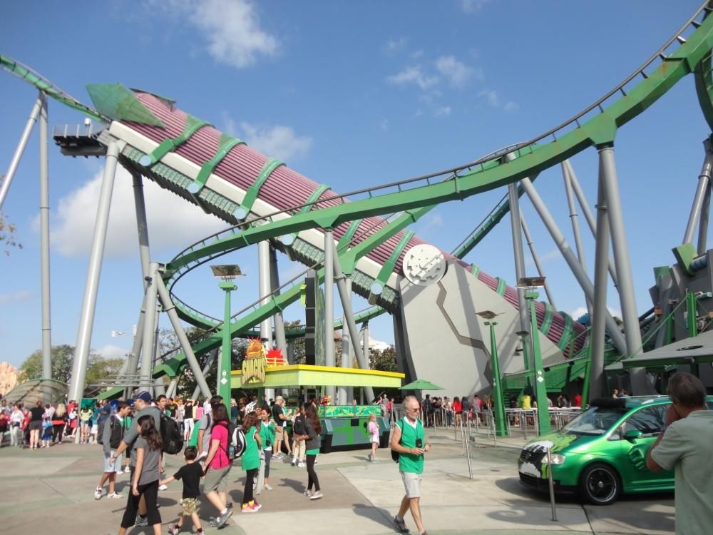 The Incredible Hulk Ride
