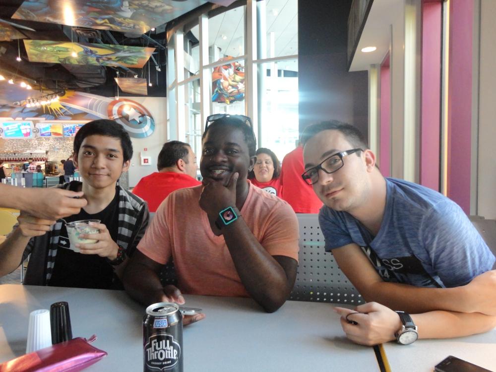 ME, Ryhien, and Fabian
