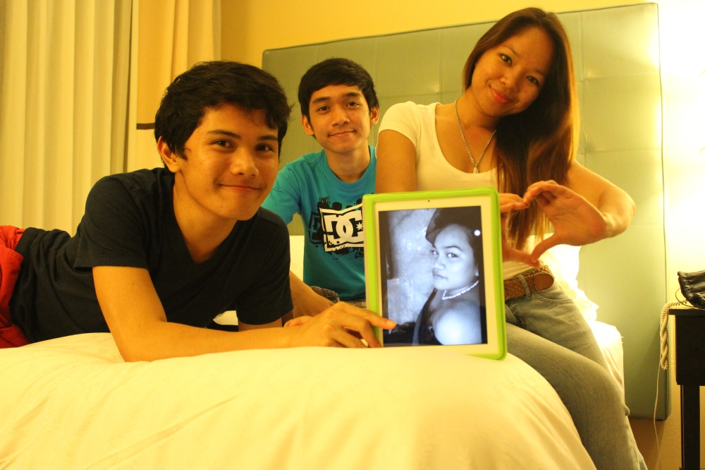 JJ, Me, and Jea (and Patrice on the iPad)