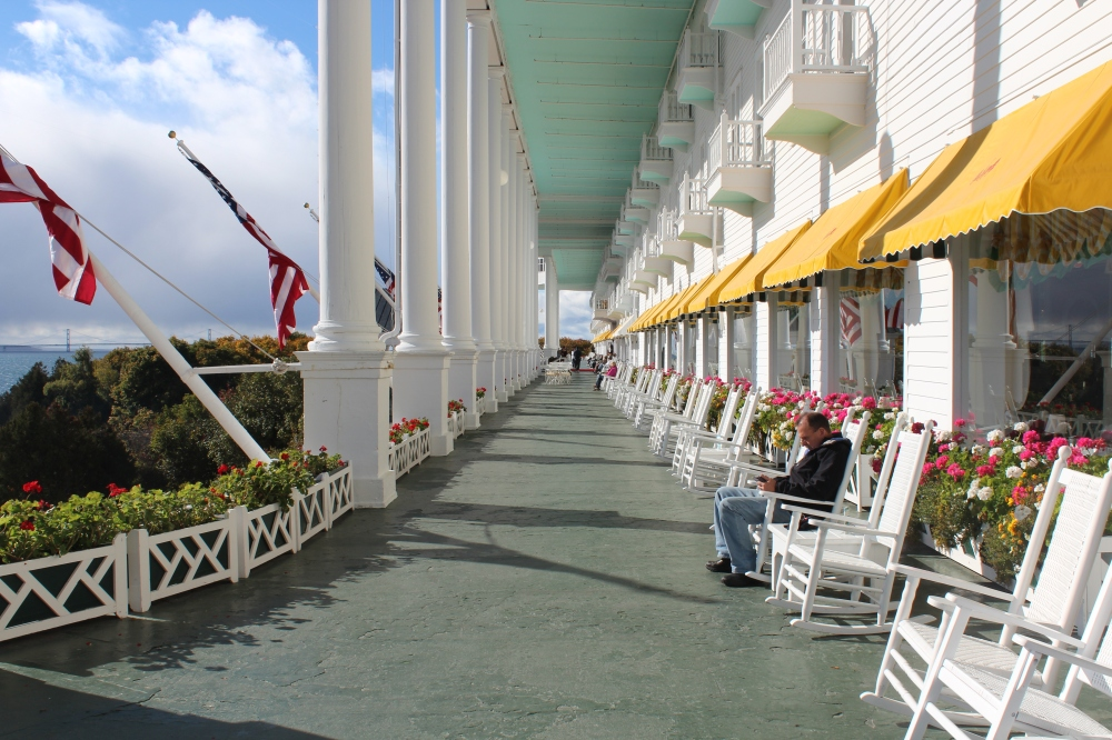 Grand Hotel's Front Porch